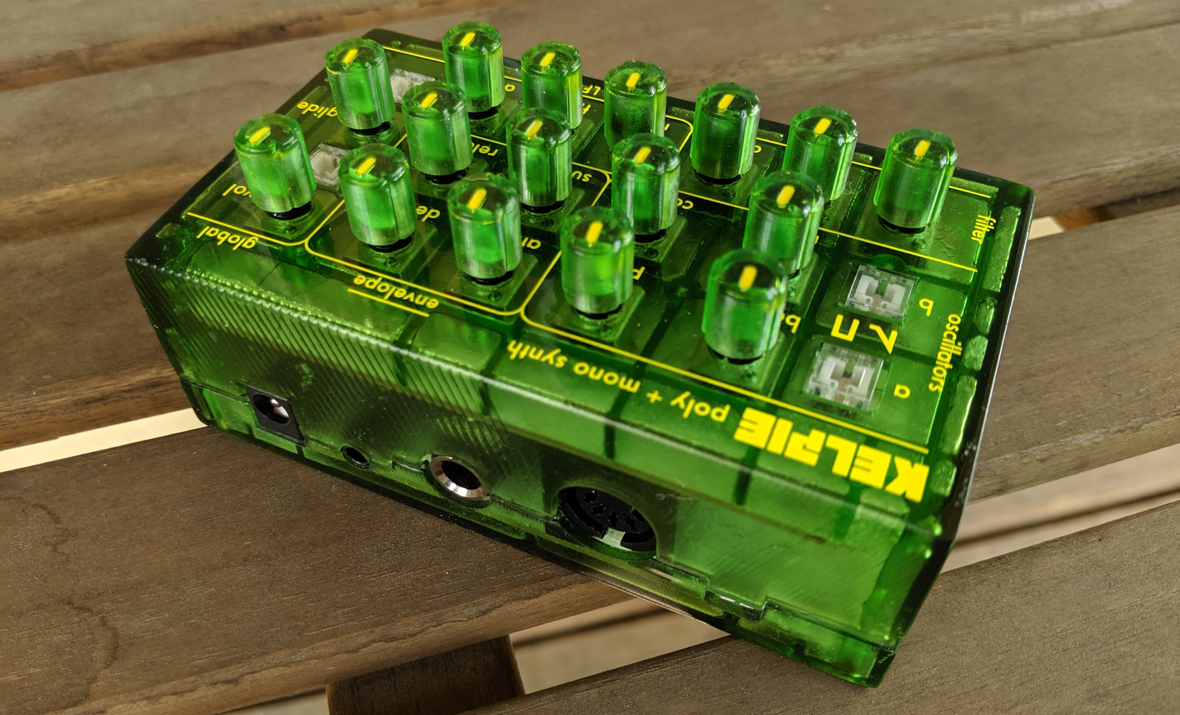 KELPIE Is a Synth Module Designed for Production Scalability