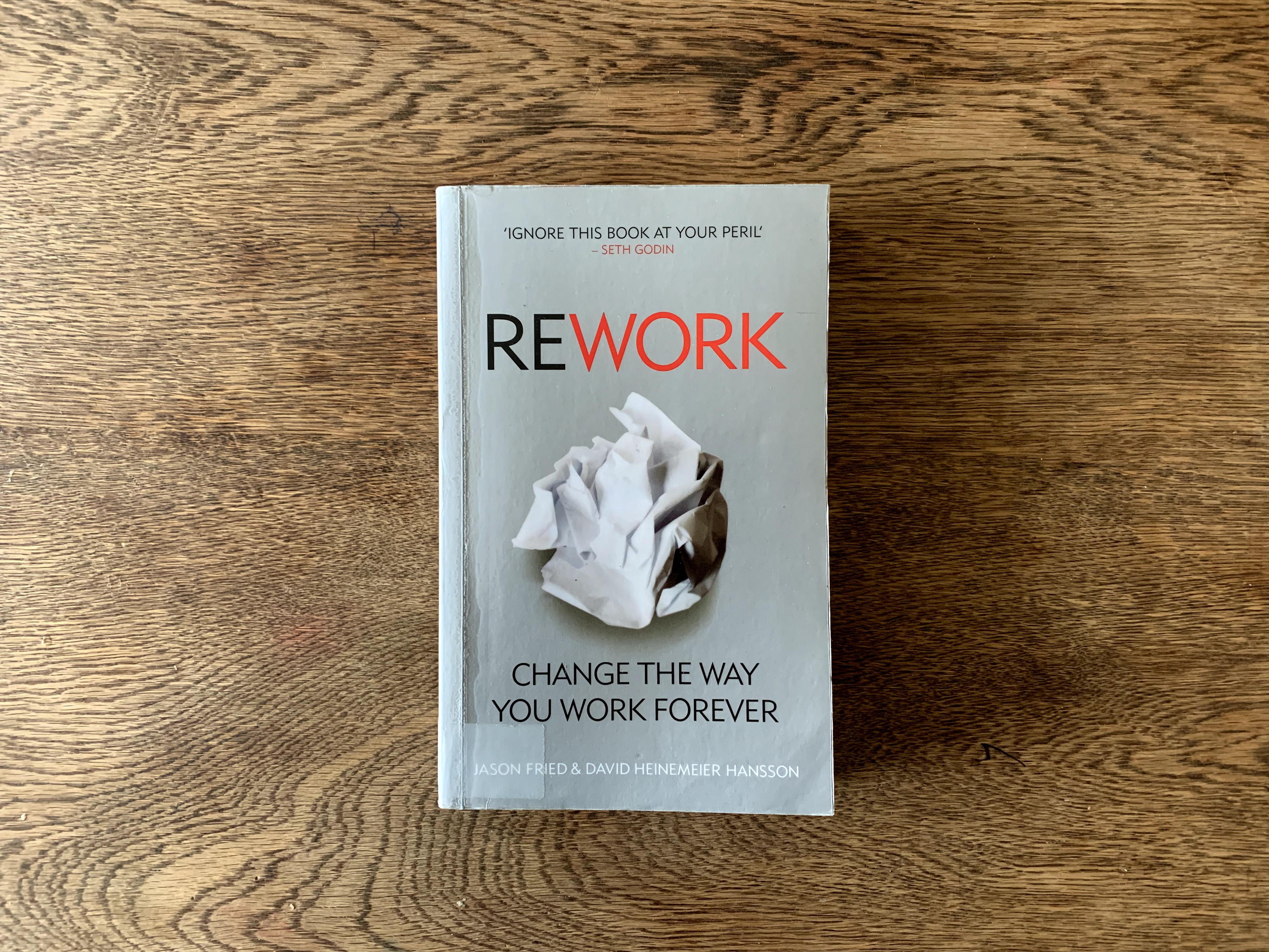 Image result for ReWork: Change The Way You Work Forever