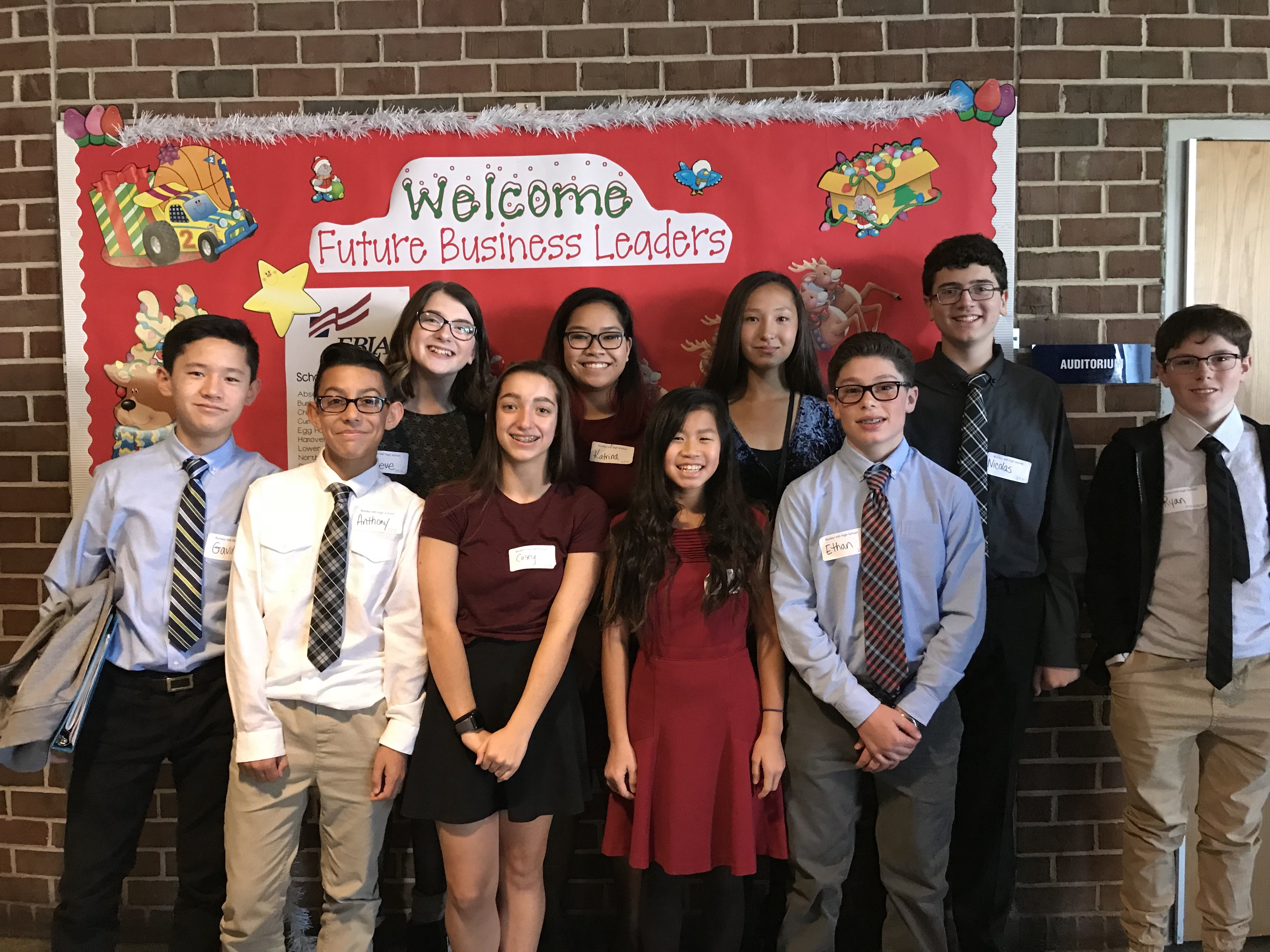 Bhms Future Business Leaders Of America To Attend State Competition On March 15 By Krista Cerminaro The Washington Township Sun Medium