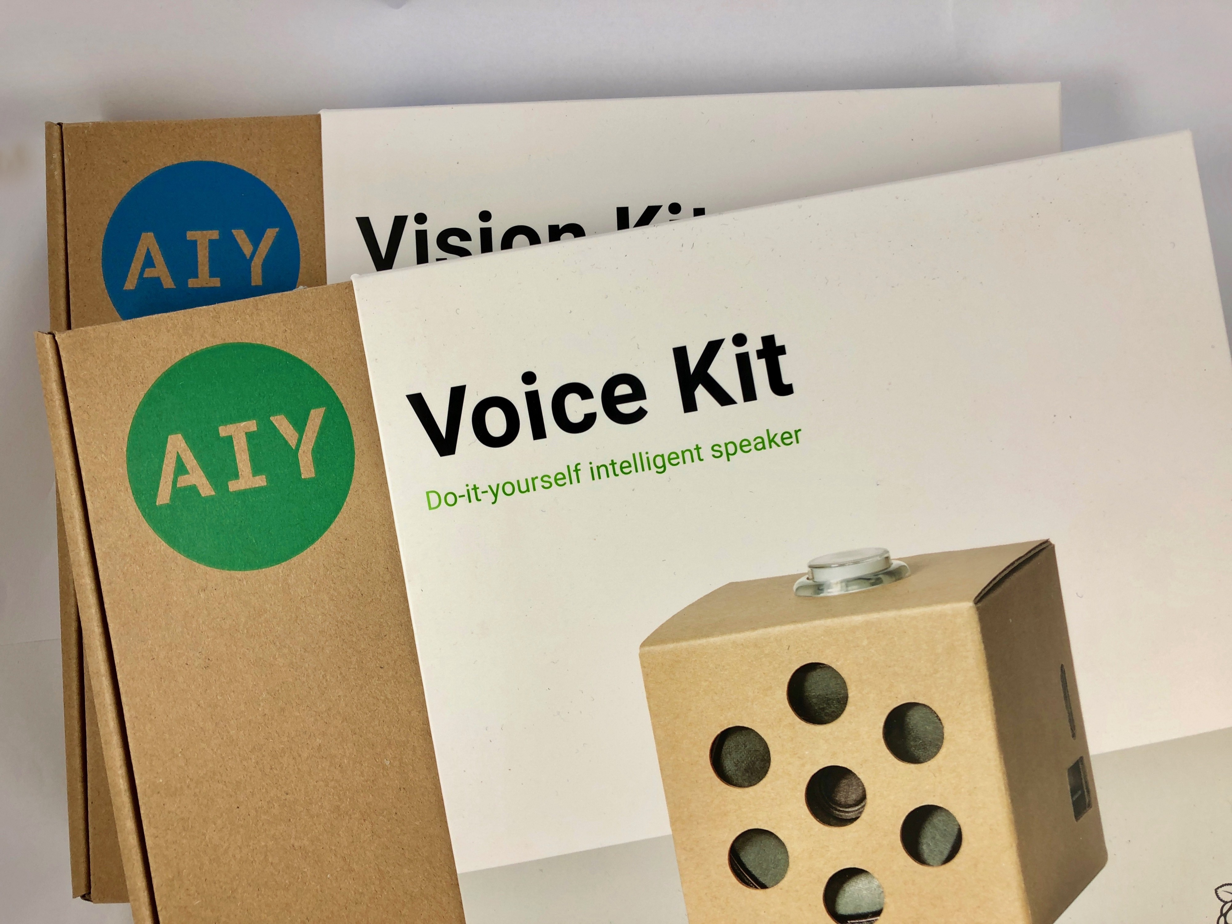 Updates for the Google AIY Projects Kits - Hackster Blog