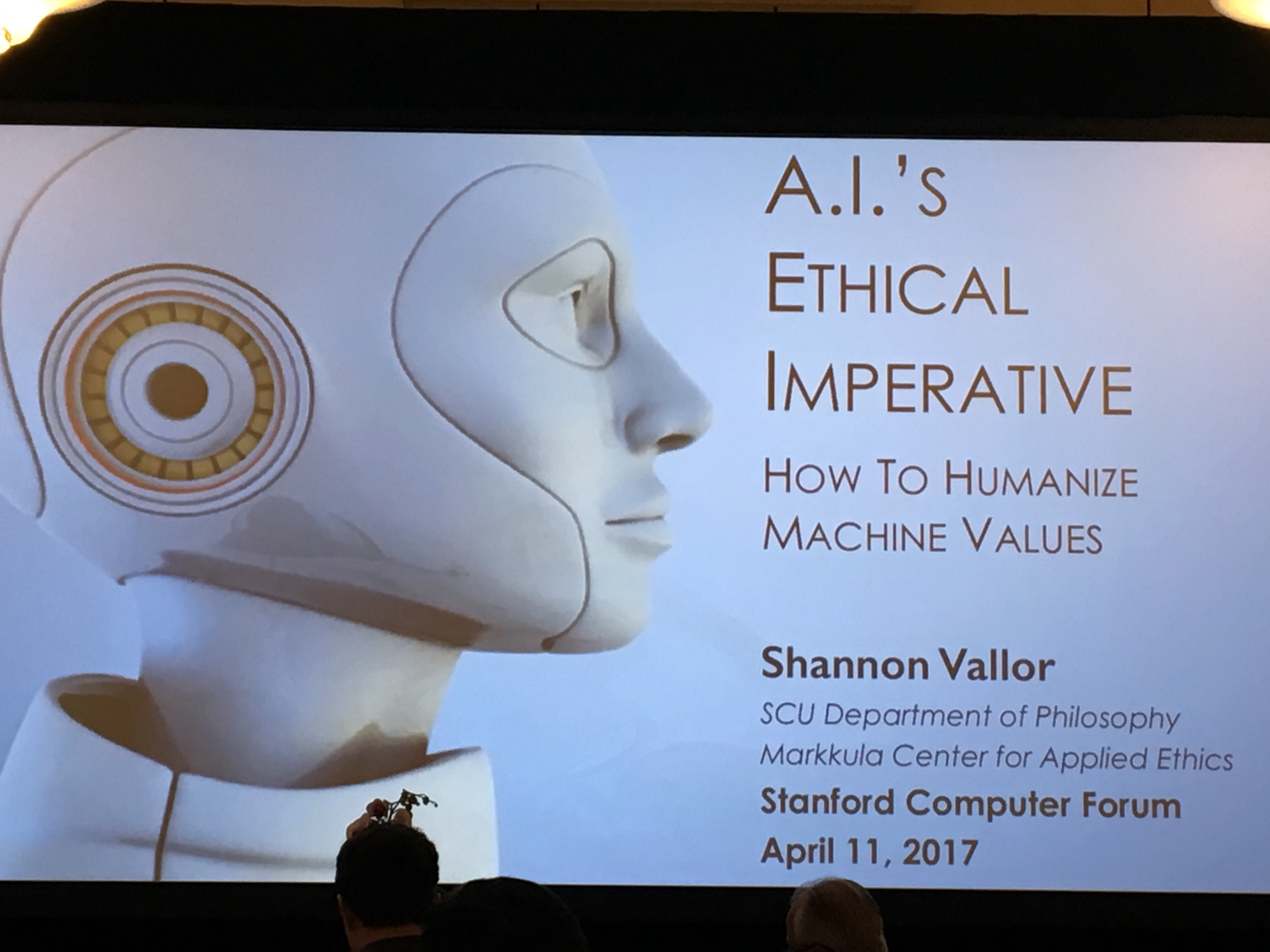 AI's Ethical Imperative @ Stanford Computer Forum - Becoming