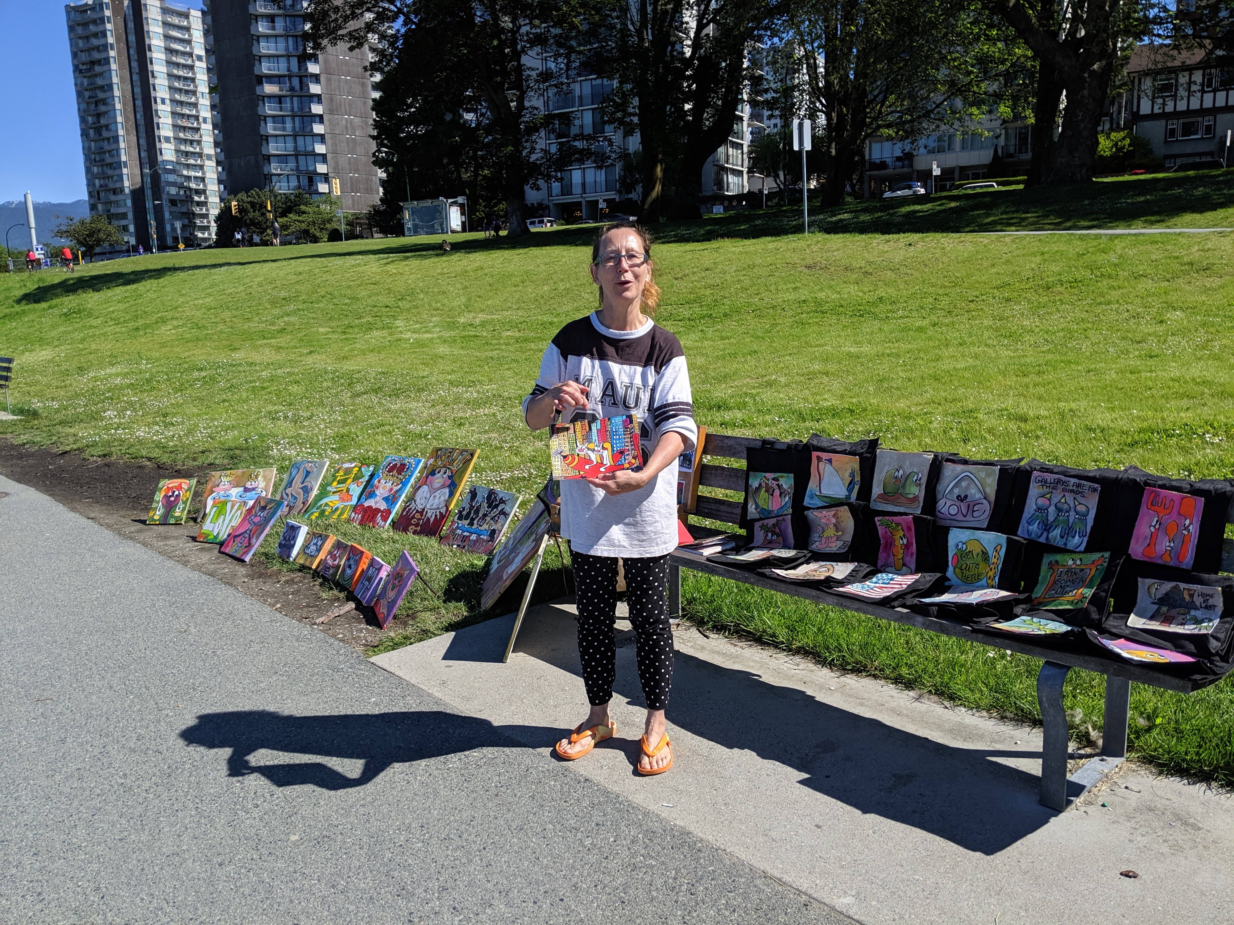 Wendy Greagsbey—local artist in Vancouver