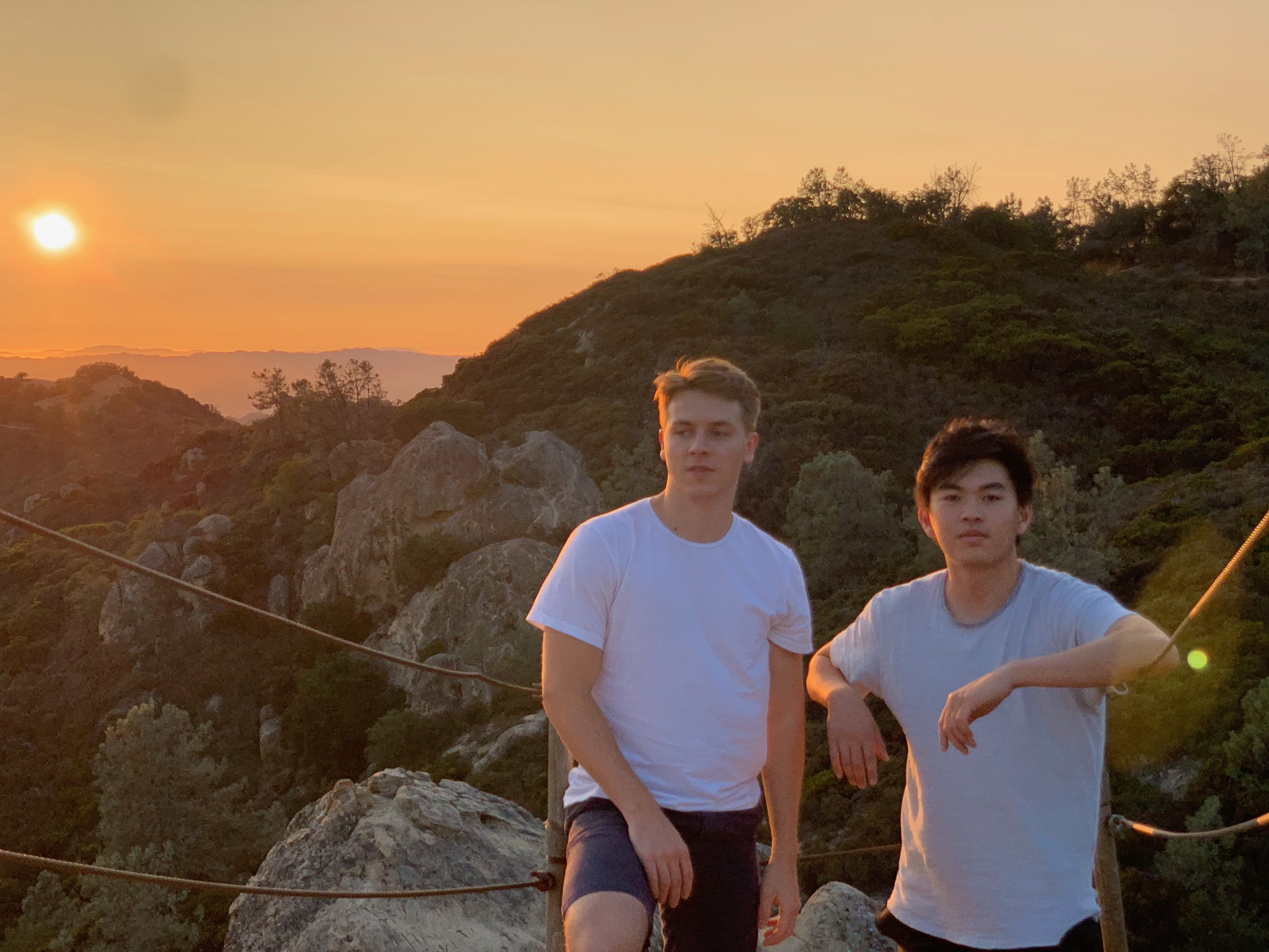 Cabana Health founders by sunset