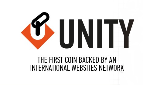 Unitycoin,the first coin backed by an international websites networks