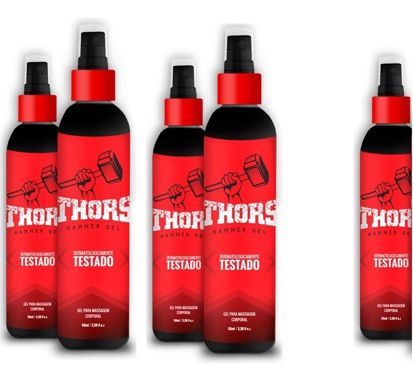 thor hammer gel site oficial