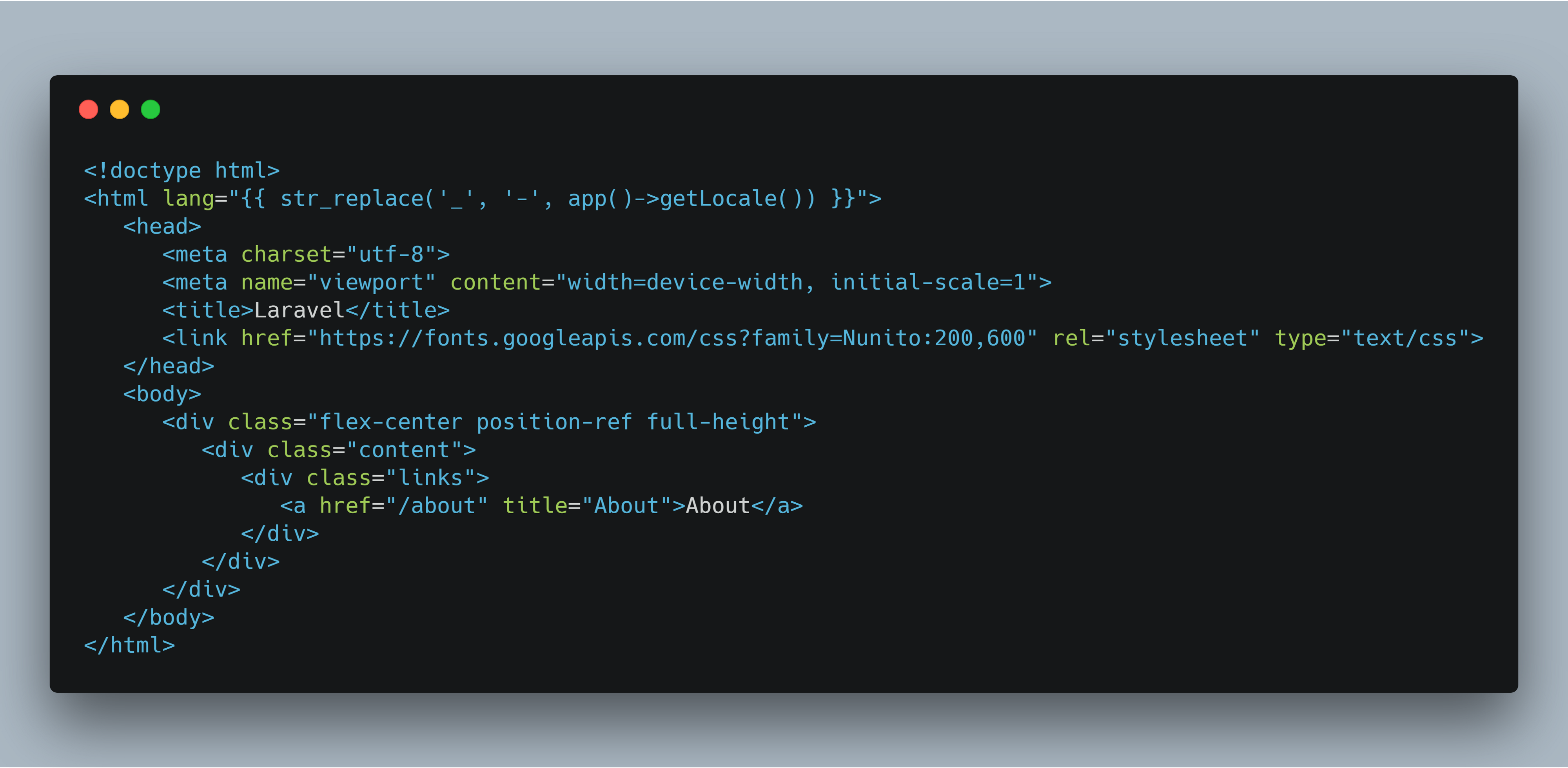 Laravel 5 7 — Blade Layout Files - Mohammad Javed - Medium