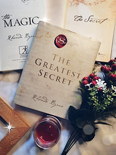 A copy of the book The Greatest Secret