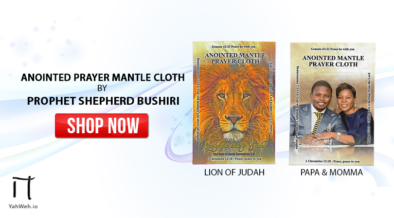Prophetic Prayer Mantles - YahWeh Religious Materials - Medium