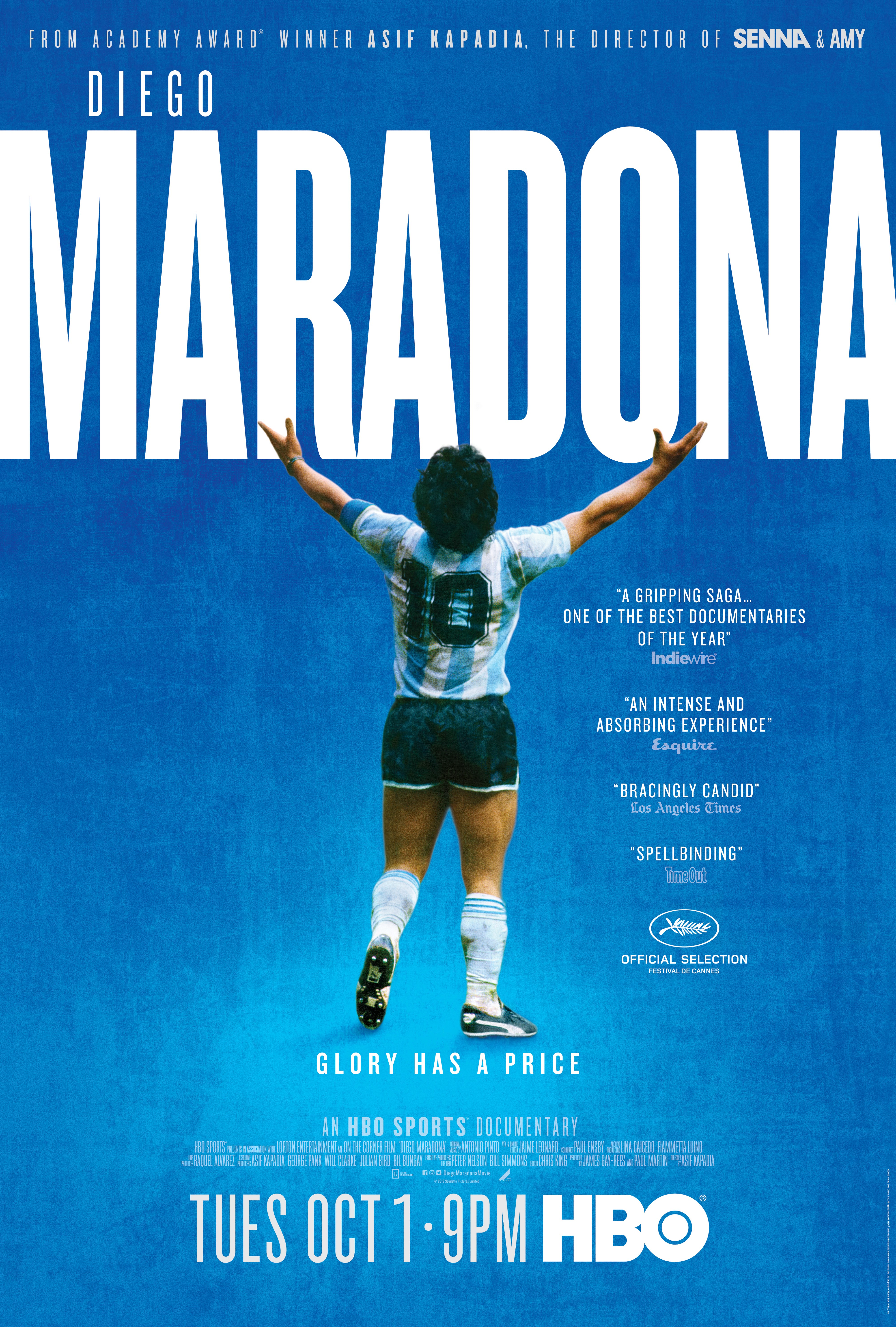 HBO Sports Documentary DIEGO MARADONA, the Extraordinary