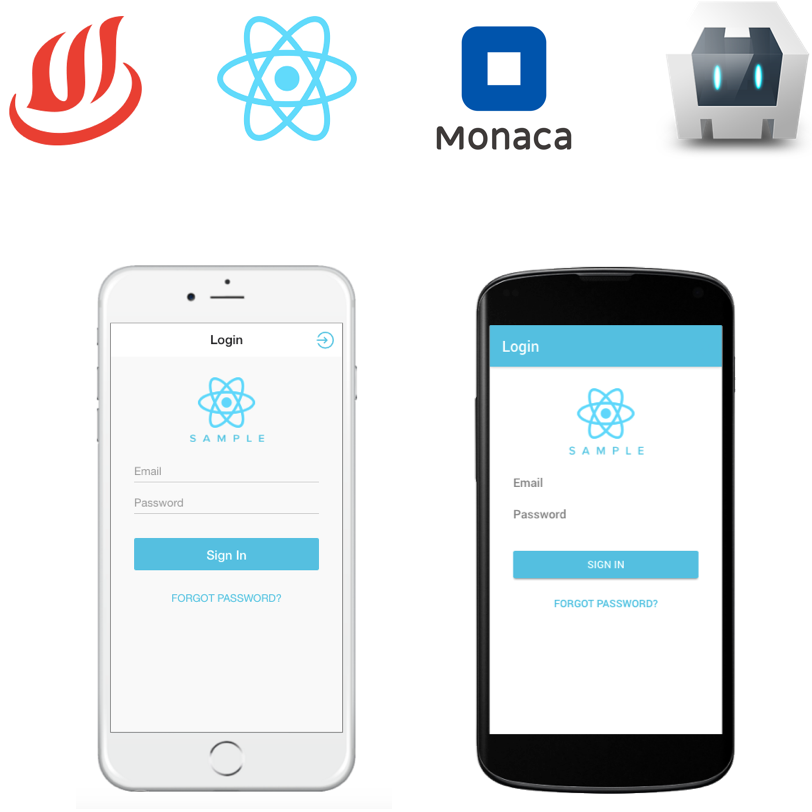 Building Cordova apps with React Components for Onsen UI