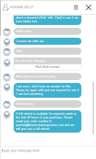 7 Questions for a Starter Chatbot Template: A Simple Case Study
