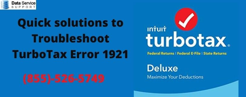 Quick solutions to Troubleshoot TurboTax Error 1921