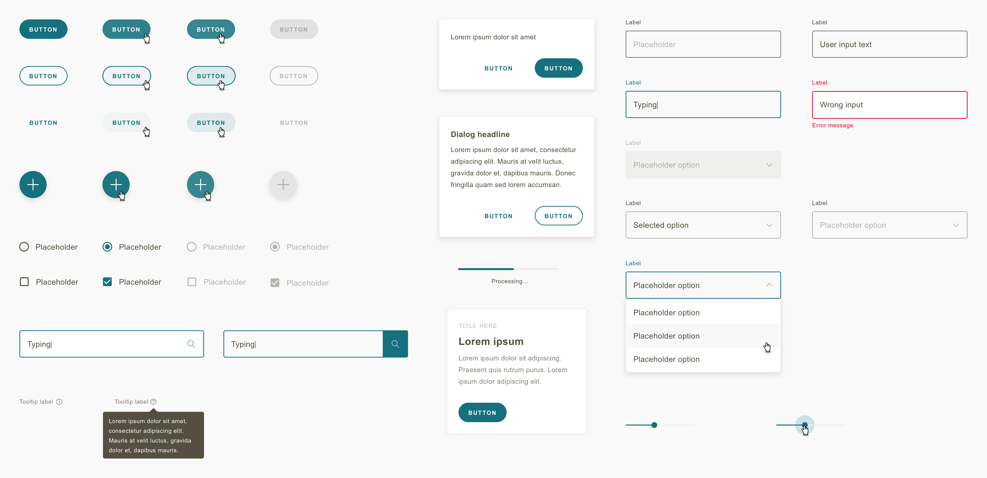 Preview of the GSK Design System
