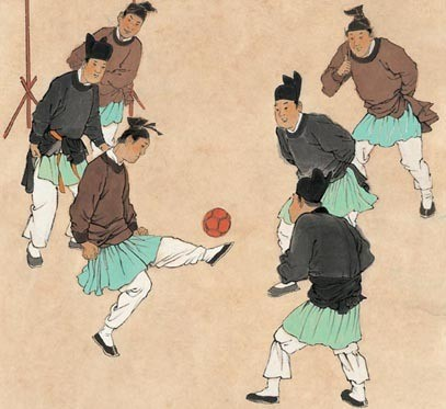 "bbf11f118 The most relevant of these ancient games to our modern day football is the  Chinese game of Cuju - meaning ""kicking the ball""- and it may have been a  ..."