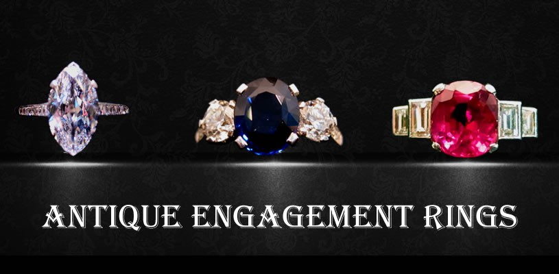 Antiques Or Antique Engagement Rings