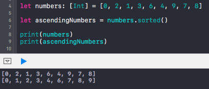 Higher Order Functions in Swift (Sorted, Map, Filter, Reduce)