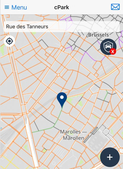 free parking in brussels city centre