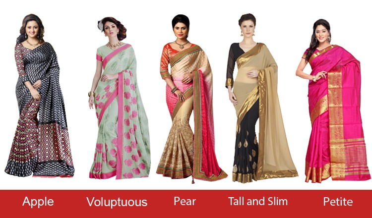 Whats The Best Suited Saree For Your Body Type Saree Medium