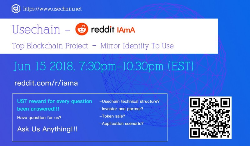 A Selection Of Questions On Usechain Reddit AMA - Usechain