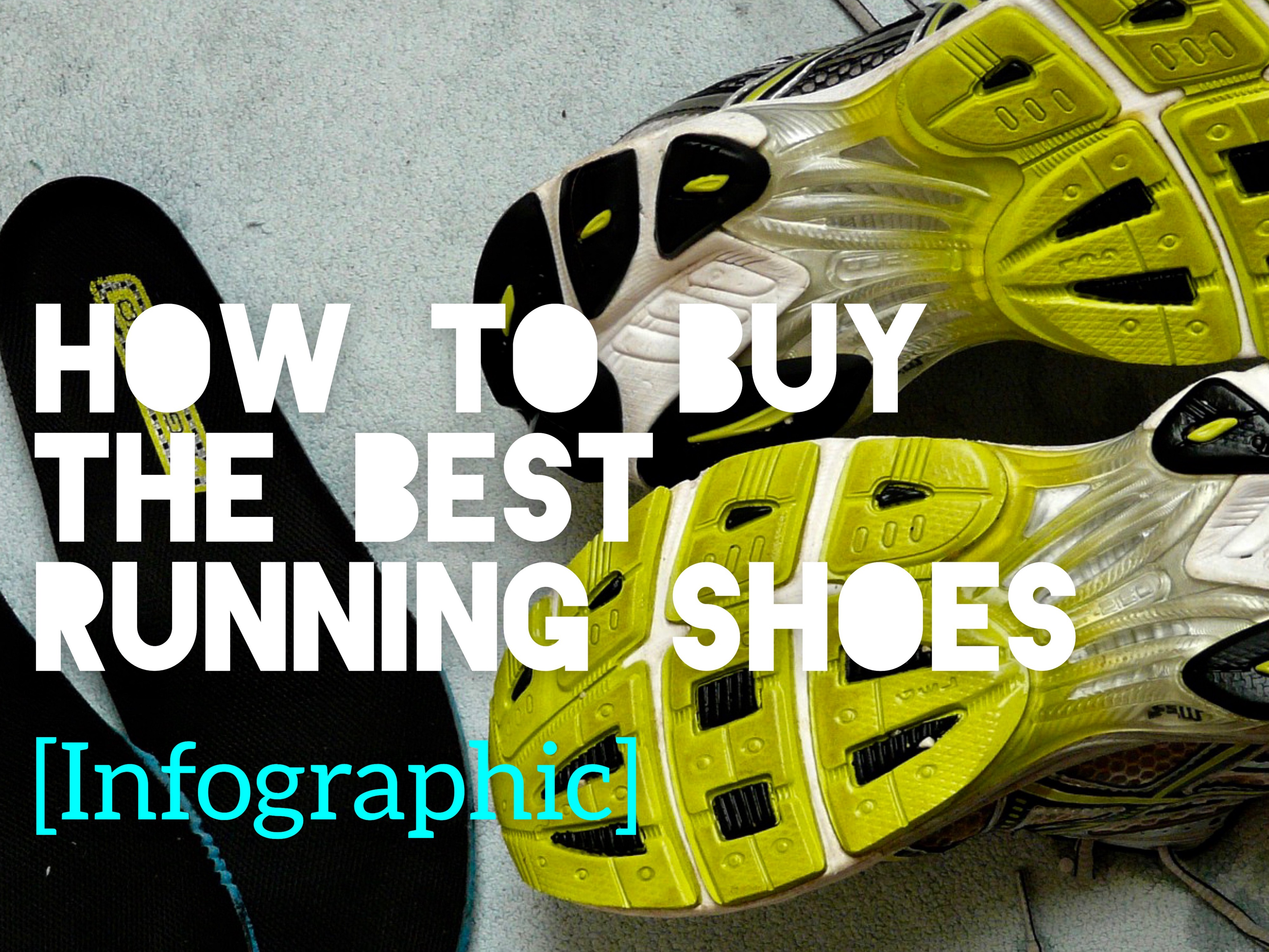 Buy The Best Running Shoes [infographic