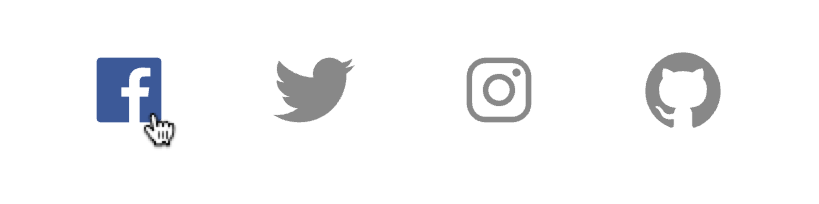 Quick and Easy Way to Implement a Social Media Icon List