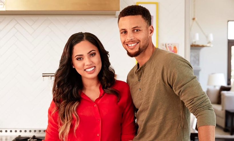 Ayesha Curry with intelligent, Husband Stephen Curry