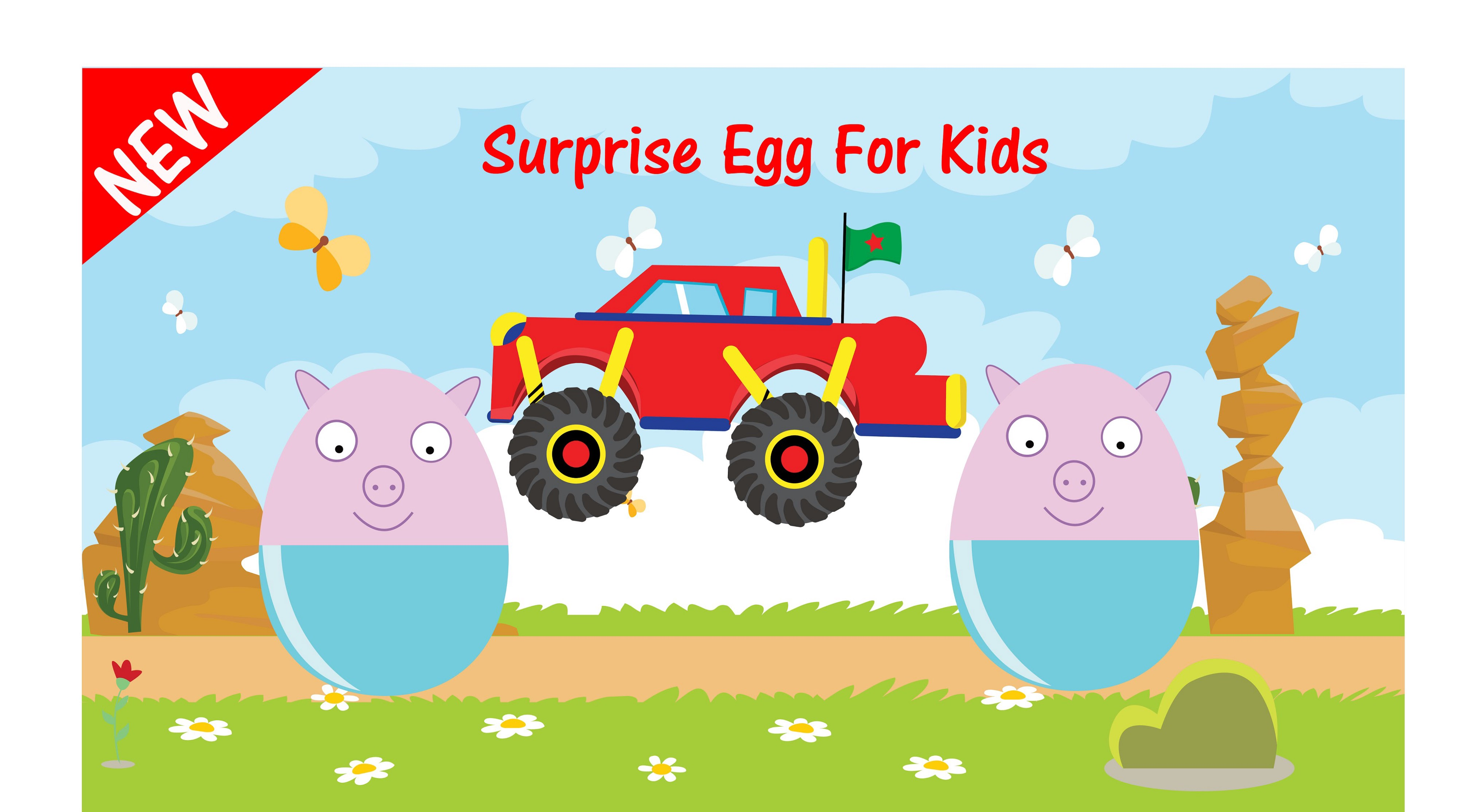 New Big Surprise Egg Play Doh 2016 For Kids Monster Truck And Peppa Pig Youtube By Jason Hiep Medium