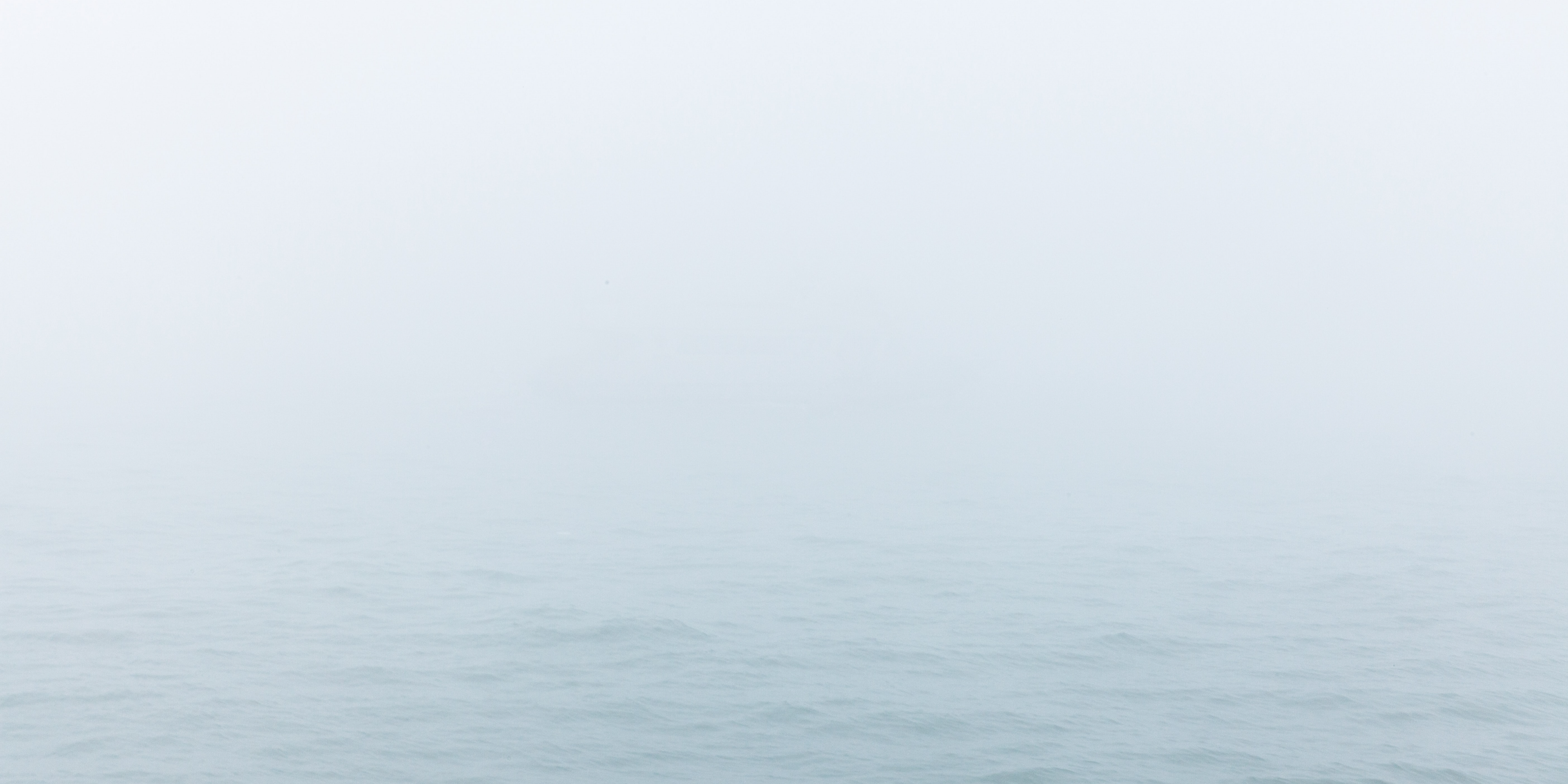 [Photo] Mist over the ocean.