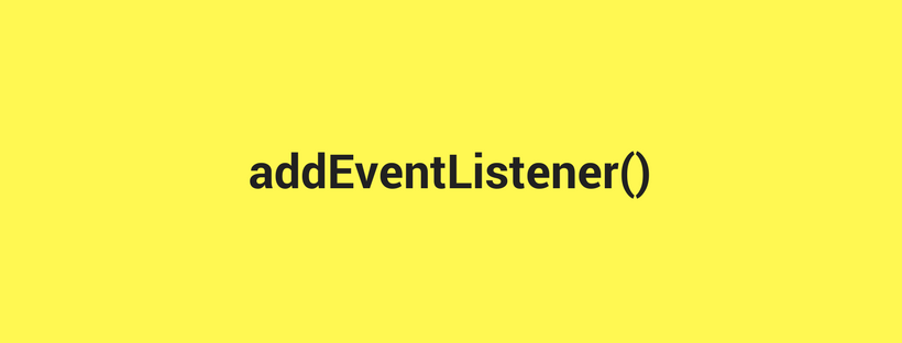 One-off event listeners in JavaScript - Beginner's Guide to