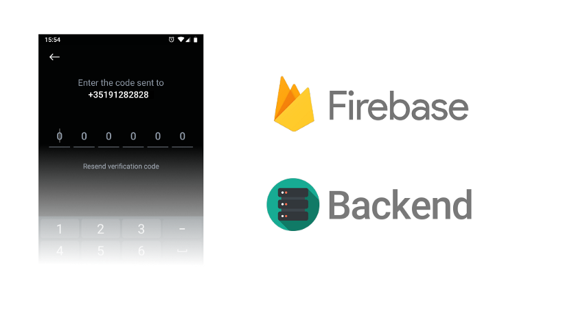Integrate Firebase phone number validation with your backend