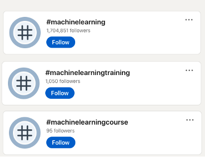 You can use a mixture of LinkedIn niche and broad hashtags to benefit from both