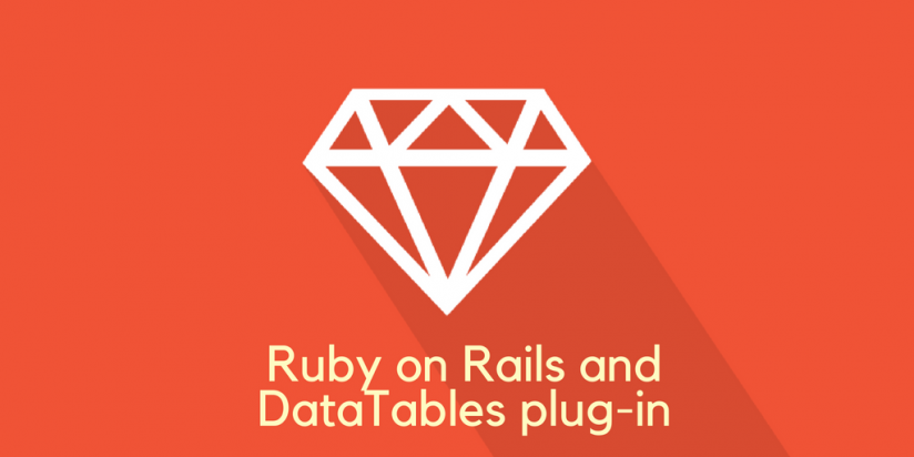 Ruby on Rails and DataTables plug-in - Vadim Tsvid - Medium