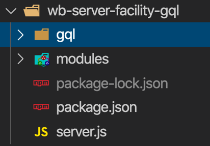 WebBill federated gql project structure