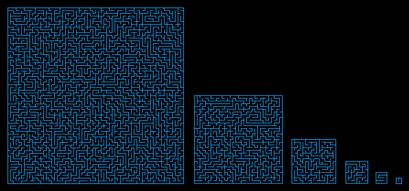 Generating Random Mazes With Recursive Backtracking