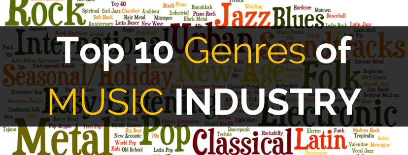 Top 10 genres of Music Industry - GiGlue - Medium