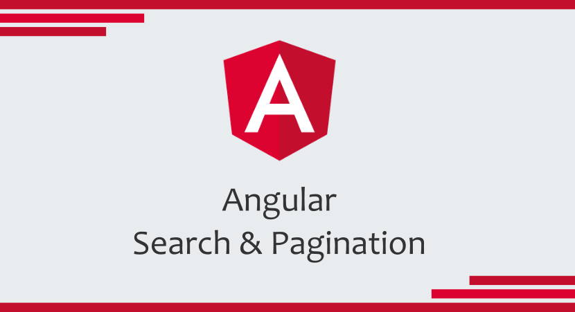 Angular Search & Pagination - ITNEXT