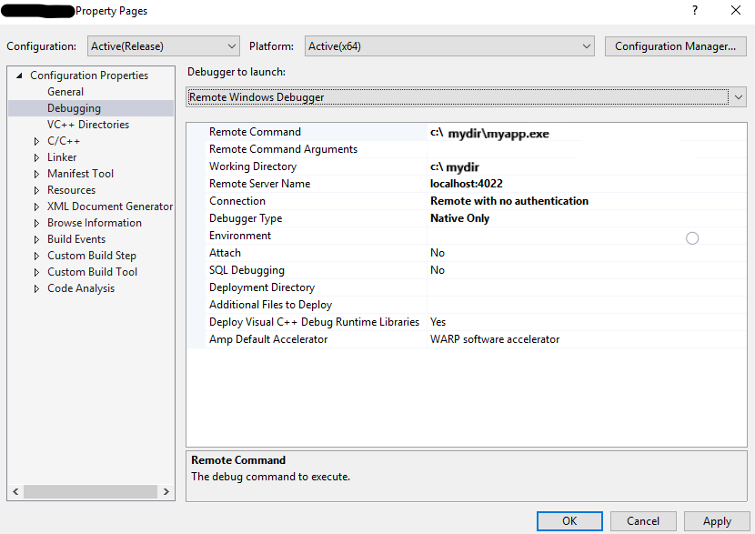 Debugging Windows containers with Visual Studio (yes, also