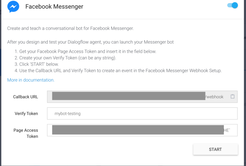 Tutorials: How to integrate Facebook messenger with Dialogflow
