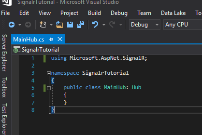 Real-Time Web Functionality for ASP NET apps using SignalR