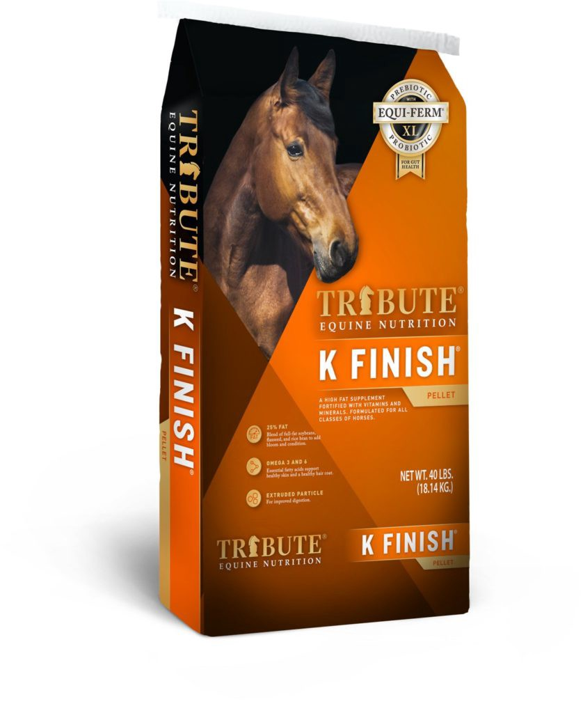 Tribute Equine Nutrition Senior Sports High Fiber, High Fat Horse Feed