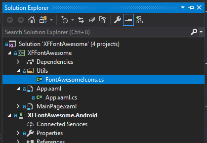 Use FontAwesome in a Xamarin Forms app - Sebastian Jensen