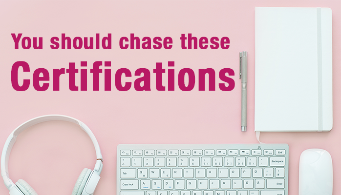 8 Certifications You Should Chase - Brian Young - Medium