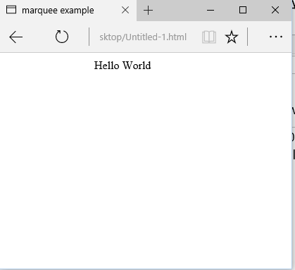 HTML Marquee : Learn Marquee Tag in HTML - Eitworld - Medium