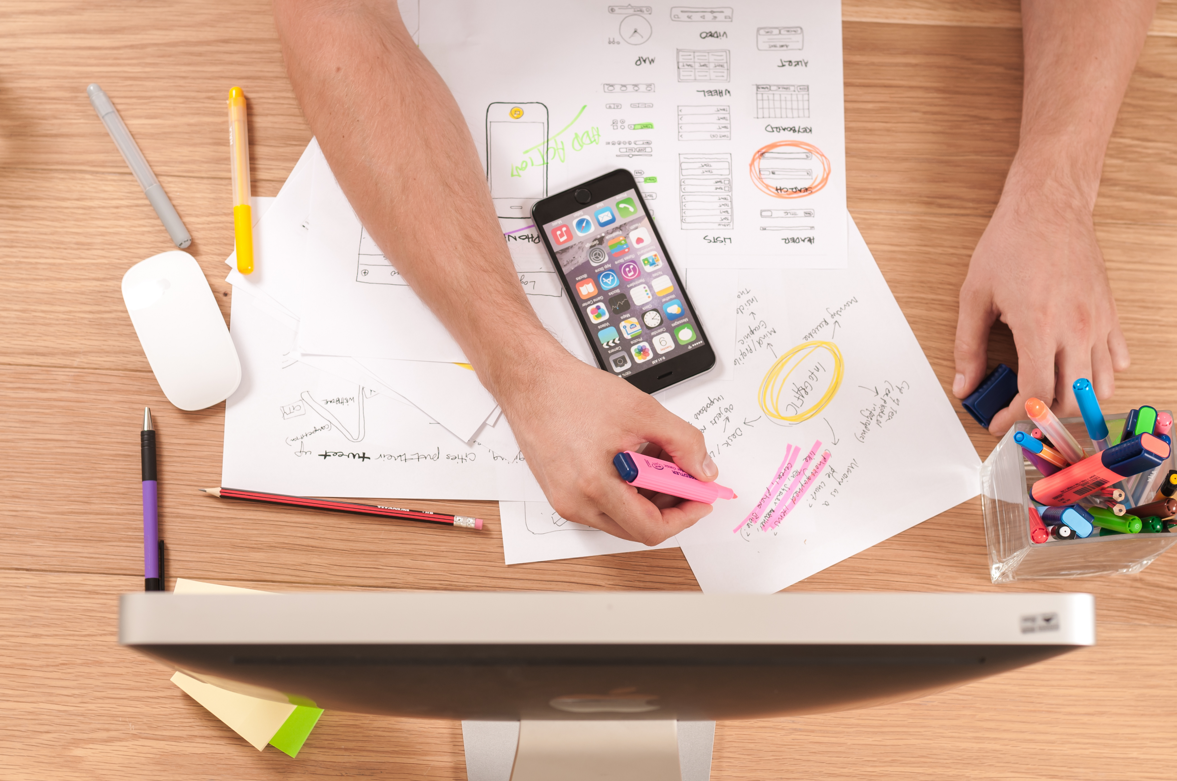 6 Steps In A Common Ux Design Process By Thai Lam Prototypr