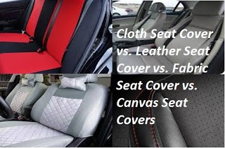 Cloth Seat Cover Vs Leather