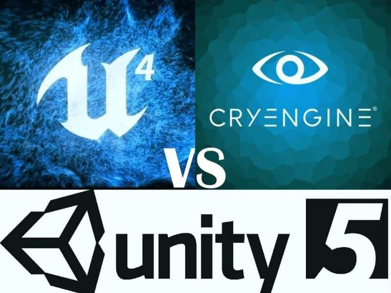 CryEngine vs Unreal vs Unity: Select the Best Game Engine