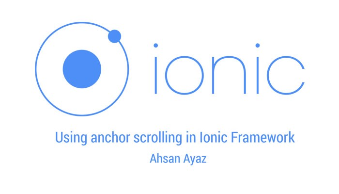 How to use anchor hash scrolling in Ionic Framework / AngularJS