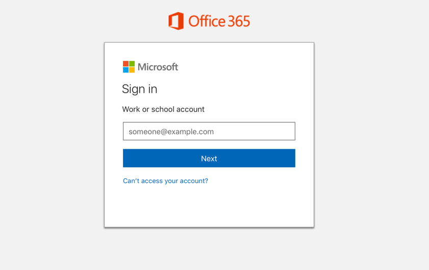 sign in to office 365 login