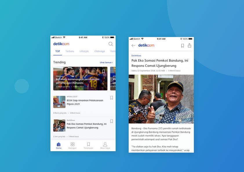 Improving Detik Com Apps News List A Ux Case Study By Muhammad Raufan Yusup Better Experience Design Medium