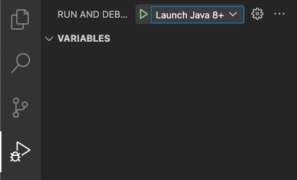 """GraalVMs """"Launch Java 8+ App"""" configuration for polyglot debugging."""